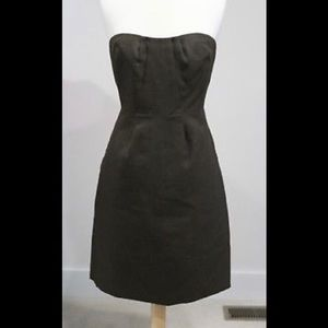 JCrew Erica Dress in charcoal